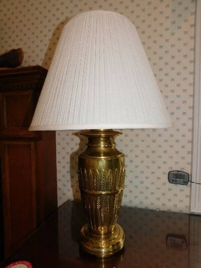 Decorative Table and Lamp