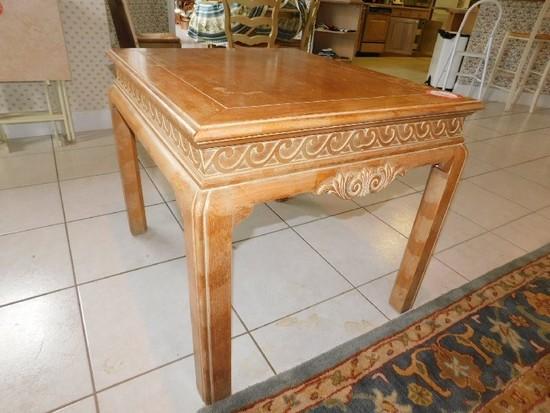 Oak Decorative Side Table