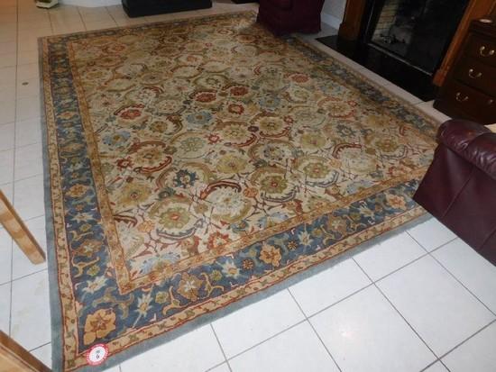"Woolmark 168"" x 120"" Oriental Rug"
