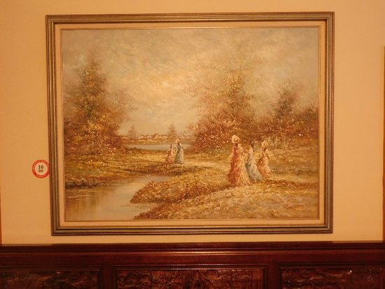 "Framed Oil On Canvas, Signed Bart Chris, 53"" x 42"""