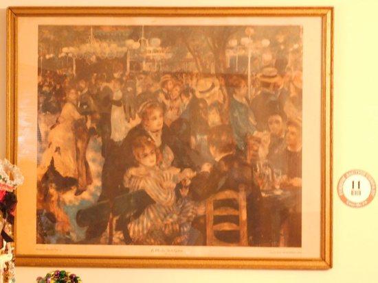 Framed Print Le Moulin De La Galette Renoir