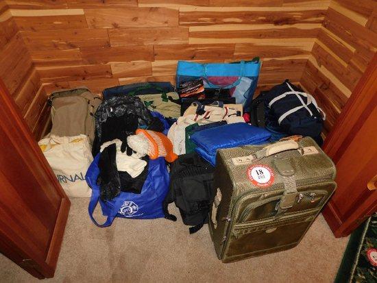 Various Luggage, Bags, Beach Bags, Gym Bags, Etc