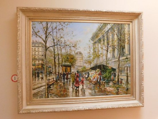"Framed Oil On Canvas, Signed Easton, 59"" x 46"""