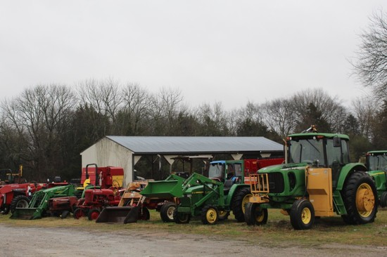Absolute Auction Of Farm Sales And Service