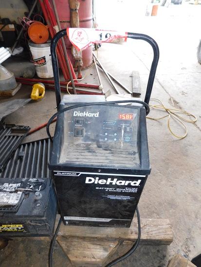 Diehard 6 Volt / 12 Volt Battery Charger/ Engine Starter From 2 Amp - 275 A