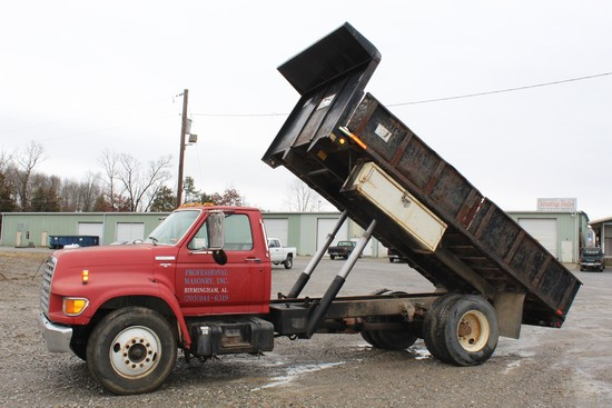 1996 Ford Series Flatbed Dump