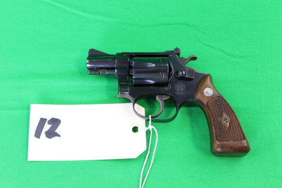Smith & Wesson 22 Revolver, Mod 34-1, s/n 105386