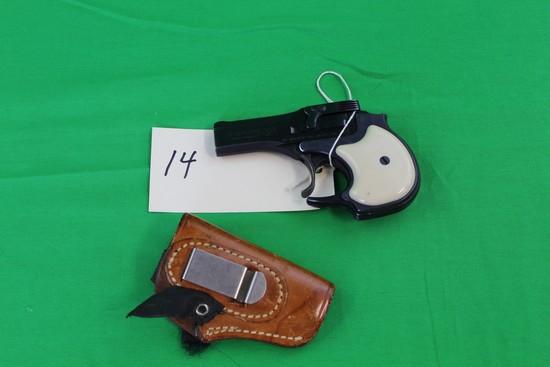 High Standard .22 Magnum Model DM-101 Derringer, s/n 2163420