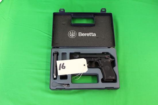 P. Beretta .380 Automatic Pistol, Model 85F s/n F24687Y