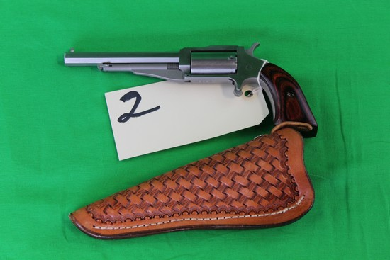 North American Arms .22 Mag Revolver, SS, S/N TE3213