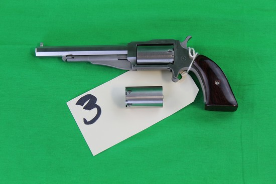 North American Arms .22 Magnum, Extra LR Cylinder, S/N TE3212