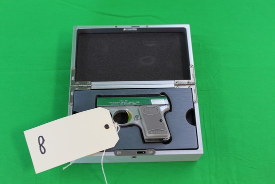 Precision Small Arms Model PSA-25Automatic Pistol, w/case and (2) clips s/n 550111