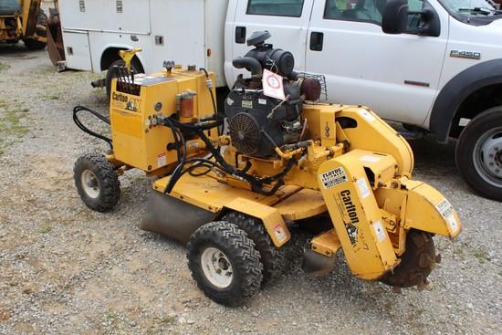 Carlton SP4012 Stump Grinder, 2436 Hrs, Kohler Gas Engine