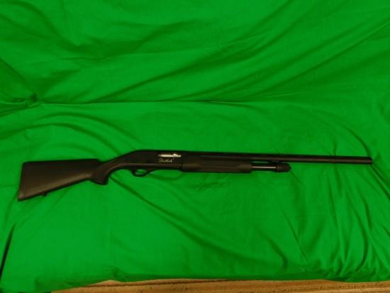 Weatherby 12 Gauge Pump Shotgun, Black Composite , s/n TP036138