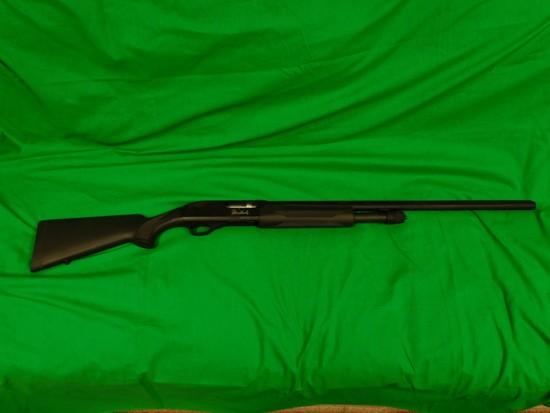 Weatherby 12 Gauge Pump Shotgun, Black Composite , s/n TP066747