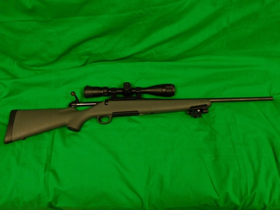 Remington Model 710 Bolt Action Rifle, 30.06 w/ 4 x 16 x 4 Scope Centerpoin