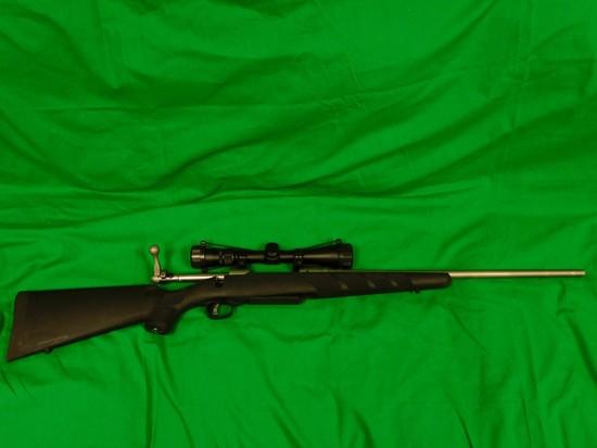 Savage Model 116 Bolt-Action Rifle 30.06 w/ Nikon Scope, s/n J26369430