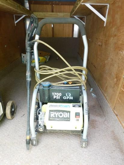 Ryobi 1700 PSI Electric Pressure Washer