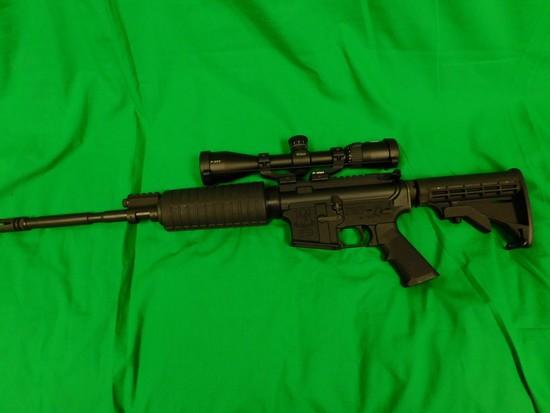 Adams Arms Model AA-15 (AR Style) Semi-Automatic Rifle, .223/5.56 w/ Nikon