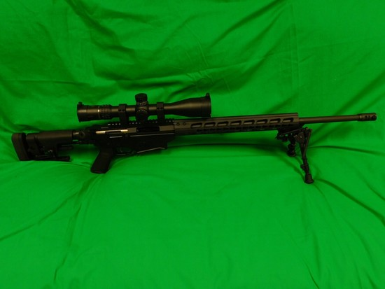 Ruger Precision Bolt Action Rifle,6.5 Creedmore w/ Bipod & Scope, s/n 18006