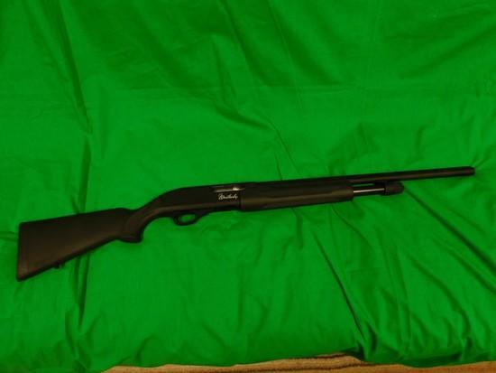 Weatherby 20 GA Pump Shotgun, Black Composite, s/n TA018475