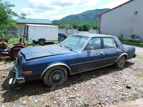 1988 Dodge Diplomat VIN 1B3BG26P2JW104798 (Not Running)