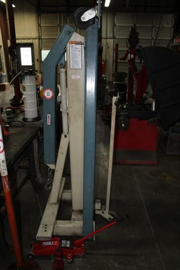 SPX Model B Series 014-0071 Hydraulic Engine Hoist