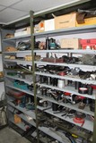 Contents of (5) Shelves, Large Quantity of Specialty Tools, Tie Rod Tools,