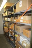 Contents of (4) Sections of Shelving (Both Sides) Tail Lights, Lamps, Headl
