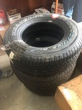 (3) Assorted Tires