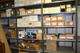 Contents of (3) Sections of Shelving, Power Steering Pumps, Water Pumps, El