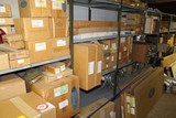 Contents of (5) Sections of Shelving & Floor, Various Wheel Covers, Core As