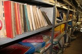 Contents of (6) Sections of Shelving, Shop Manuals, Parts Manuals For Older