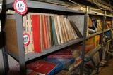 (6) Sections of Adjustable Metal Shelving 36