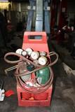 Portable Oxygen Acetylene Torch w/ Hose, Nozzles, Regulators and Tanks