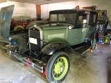 1931 Ford Model A Deluxe Tudor Sedan