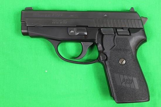 Sig Sauer P239, caliber 9mm, s/n SA33943.  Factory box, 3 mags total, 98%.
