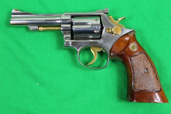 Smith & Wesson Model 15-2 revolver, caliber 38 Special, s/n K523736.  Refin