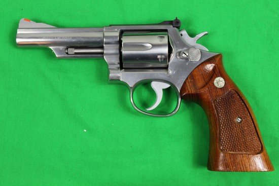 """Smith & Wesson model 66-1, caliber 357 magnum, s/n 43K1619.  P&R, 4"""" barrel"""