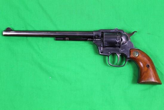 Hi-Standard Double Nine revolver, caliber 22 Long Rifle, s/n 2168596.  Blue