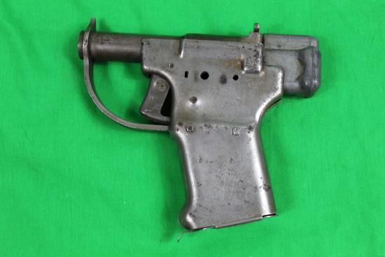 U.S.  Liberator single shot pistol, caliber 45 auto, #NSN.  Grip floor plat