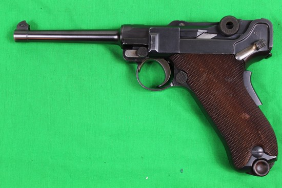 Luger DWM, 30 caliber, s/n 35313.  Commercial, mag not marked, finish 90%.