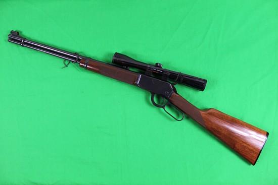 Winchester 9422M Rifle w/ Bushnell Scope, caliber 22 Magnum, s/n F446418.