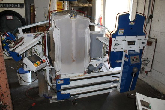 Forenta Model 822SBSP Shirt Machine For Collars and Cuffs