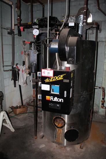 2010 Fulton The Edge Boiler FB-020-F, 84000 BTUH Natural Gas