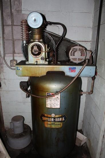 Saylor Beal 5hp Vertical Air Compressor