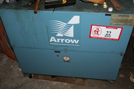 Arrow Model F-35 Series High Temperature Air Dryer