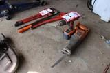 Ridgid Cordless Drill & Ridgid Reciprocating Saw