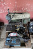 Contents of Pallet: Bench Top Drill Press, Abrasive Cut Off Saw