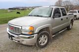 2005 GMC 1500 Crew Cab, 4WD, V-8, Automatic, 198,500 Miles, VIN 1GTEK13T951